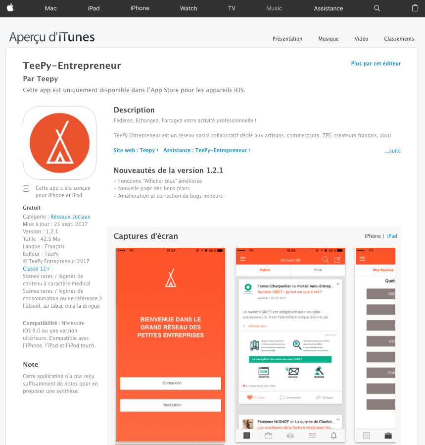 AppStore_TeePy_app