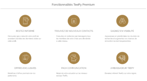 Avantages TeePy Pass Premium